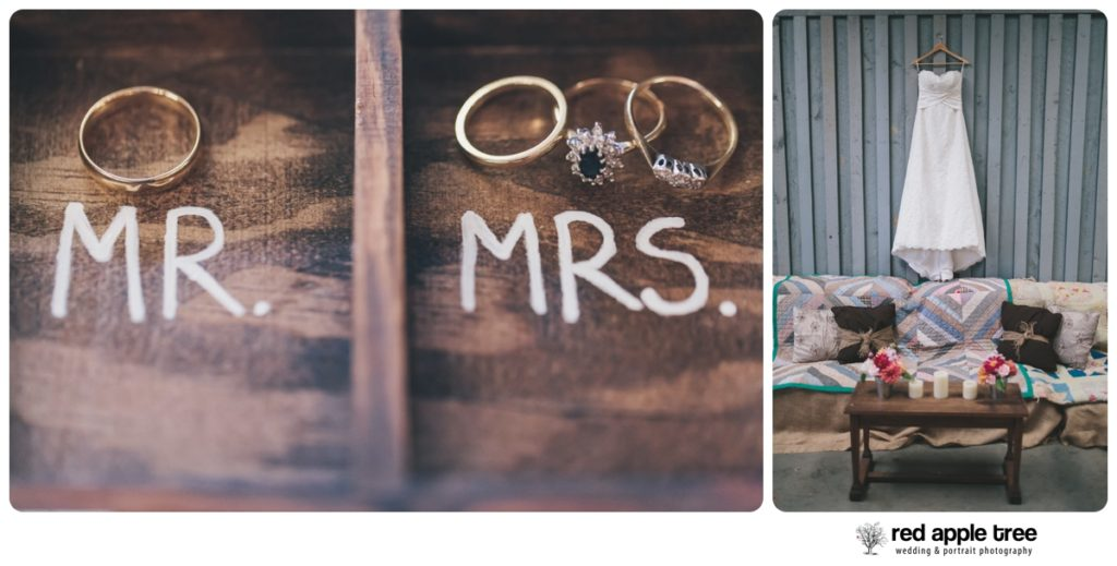 Andrea + Jay's Wedding | Greenbrier Farms | Easley, SC - Red Apple