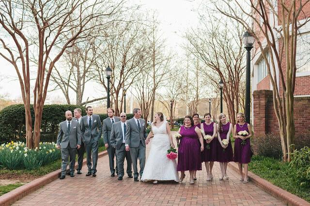 Bridal Party Wedding Portrait