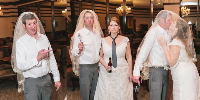 Bride and Groom Wedding portrait 3