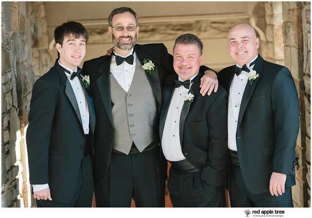 Wedding Portrait with Groomsmen