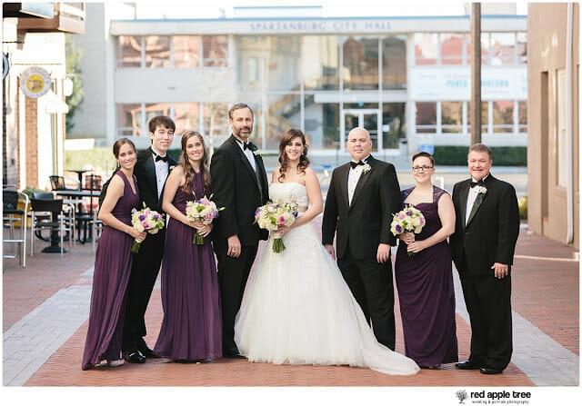 Wedding Portrait Bridal Party 1