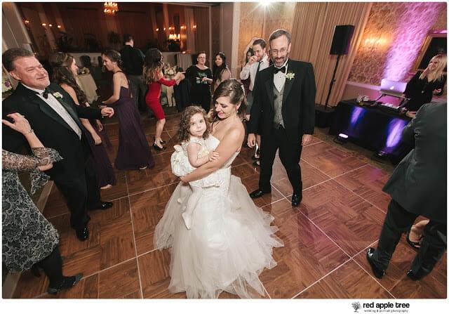 Bride dancing in wedding reception 2