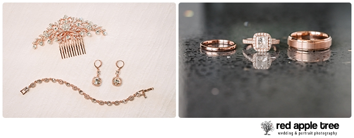 Wedding rings and jewelry