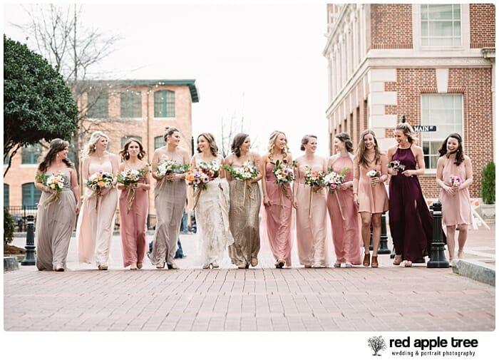 Wedding bridesmaid portrait