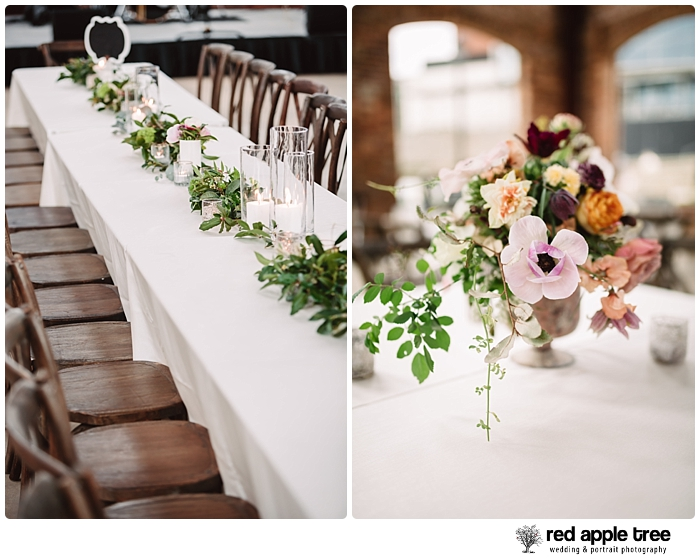 Wedding Table flowers 1