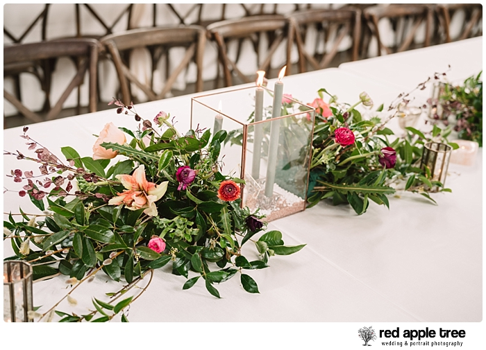 Wedding Table flowers 2