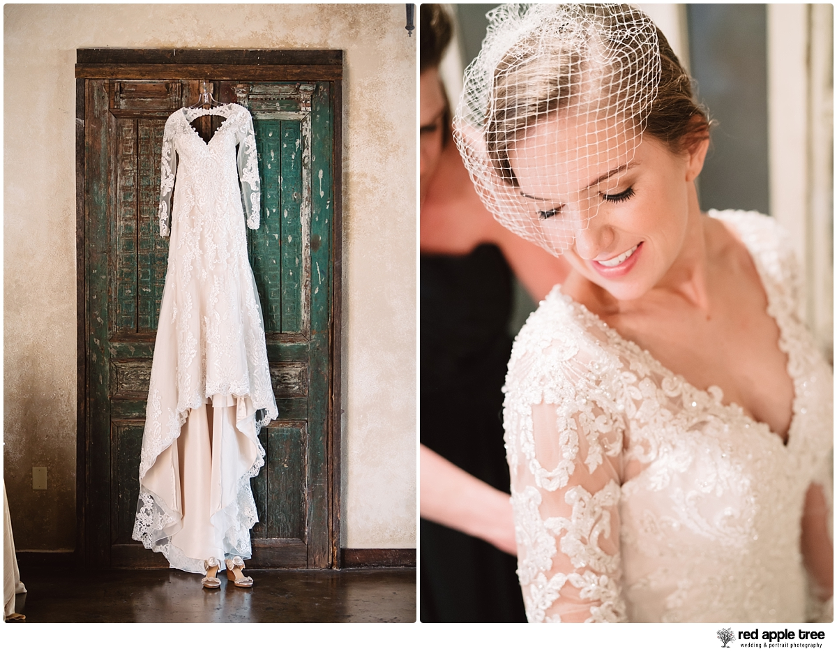 Bride and Wedding Dress