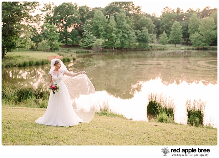 Bridal Portrait at lake 3