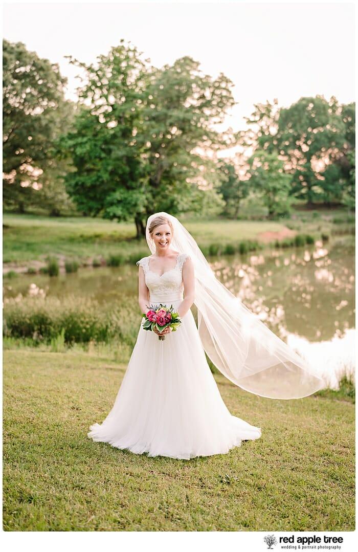Bridal Portrait at lake 2