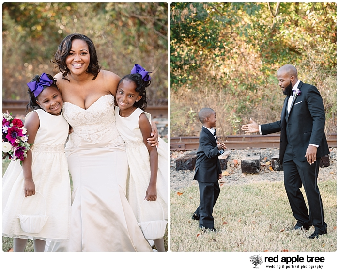 Wedding Portraits with Bride and Groom