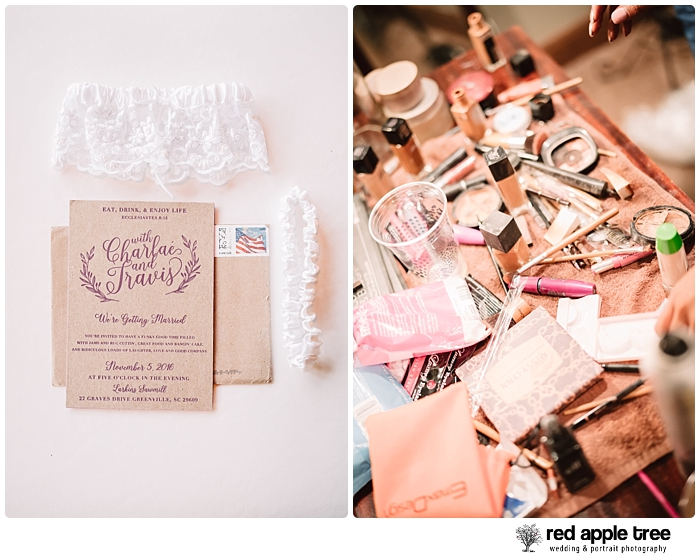 Wedding Makeup station