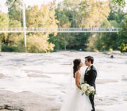 Downtown Greenville Fall Wedding at Larkins by Falls Park