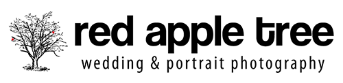 Red Apple Tree Photography Logo